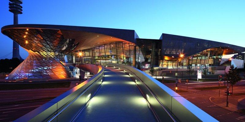 BMW world event Forum.