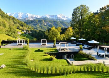 Hotel in a beautiful location in Garmisch