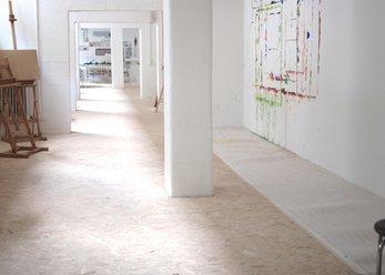 180 m² lichthelles Atelier