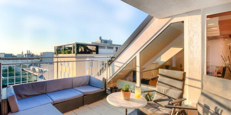 Exklusives Penthouse mit Altstadtblick
