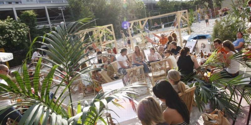 Beach Club with event space