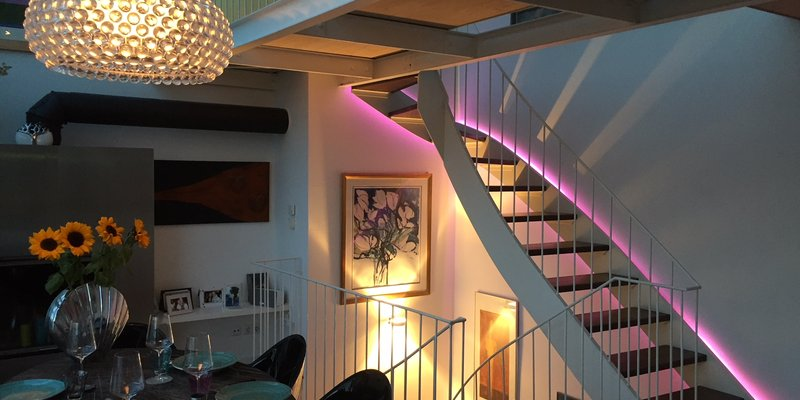 Penthouse München location penthouse apartment with views of church of our in