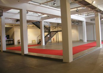 White exhibition / event space