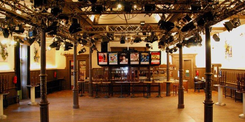Flex. Veranstaltungshaus mit Nebenräumen