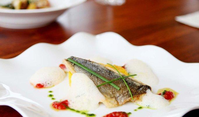 Fine restaurant, flair and elegance