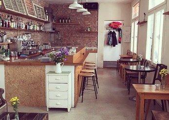 Kleine Vintage-Bar nähe Hbf bis 40 Personen