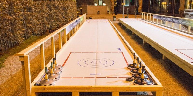 Curling fun near Munich